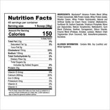 Myofusion Advanced 4lb Nutrition Facts