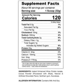 Proven Whey 4lb Supplement Facts