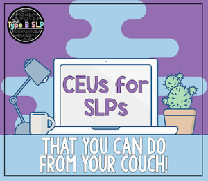 Quality CEUs from your couch! (+ A COUPON CODE)