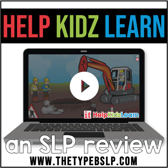 help kidz learn website image on laptop