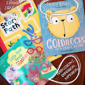 Usborne Books for Speech Therapy, Part 1 (+Freebie!)