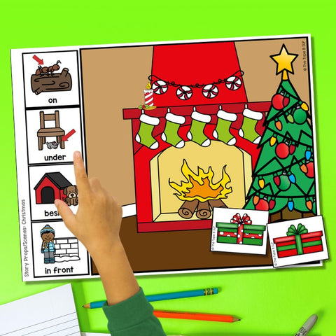 Photo of Christmas Story Board