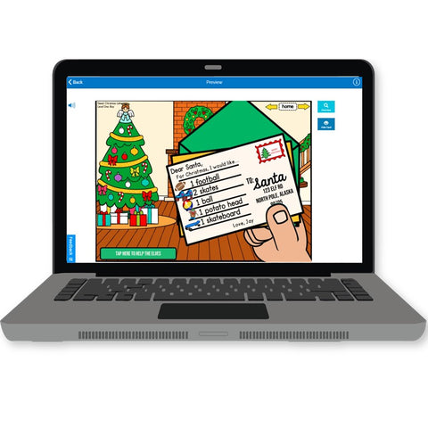 Photo of laptop with Gift Shopping list
