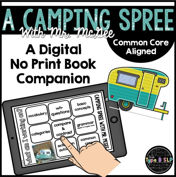 Digital Book Companion: A Camping Spree Mr. Magee
