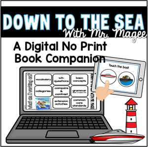Digital Book Companion: Down to Sea With Mr. Magee