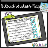 Digital Book Companion: A Loud Winter's Nap