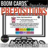 BOOM CARDS™ for Teaching Prepositions