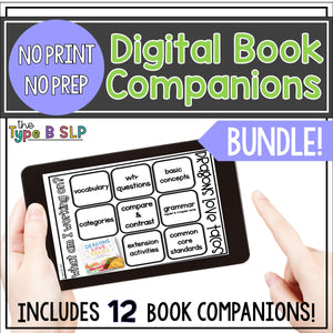 Digital No Print Book Companions: THE BUNDLE