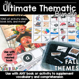 Ultimate Thematic FALL Unit: The Bundle