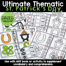 Load image into Gallery viewer, Ultimate Thematic Unit for Speech: St Patrick's Day Theme