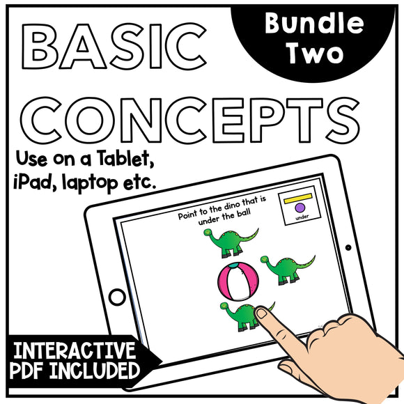 Basic Concepts for Speech Therapy and Teletherapy: Bundle 2