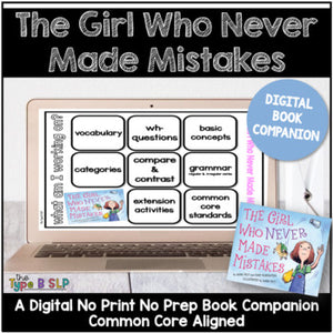 Digital Book Companion: The Girl Who Never Made Mistakes