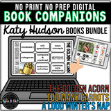 Digital Book Companion BUNDLE: Katy Hudson Book Companions for Speech Therapy