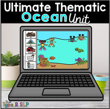 Load image into Gallery viewer, Ultimate Thematic OCEAN UNIT: Distance Learning for Speech Therapy