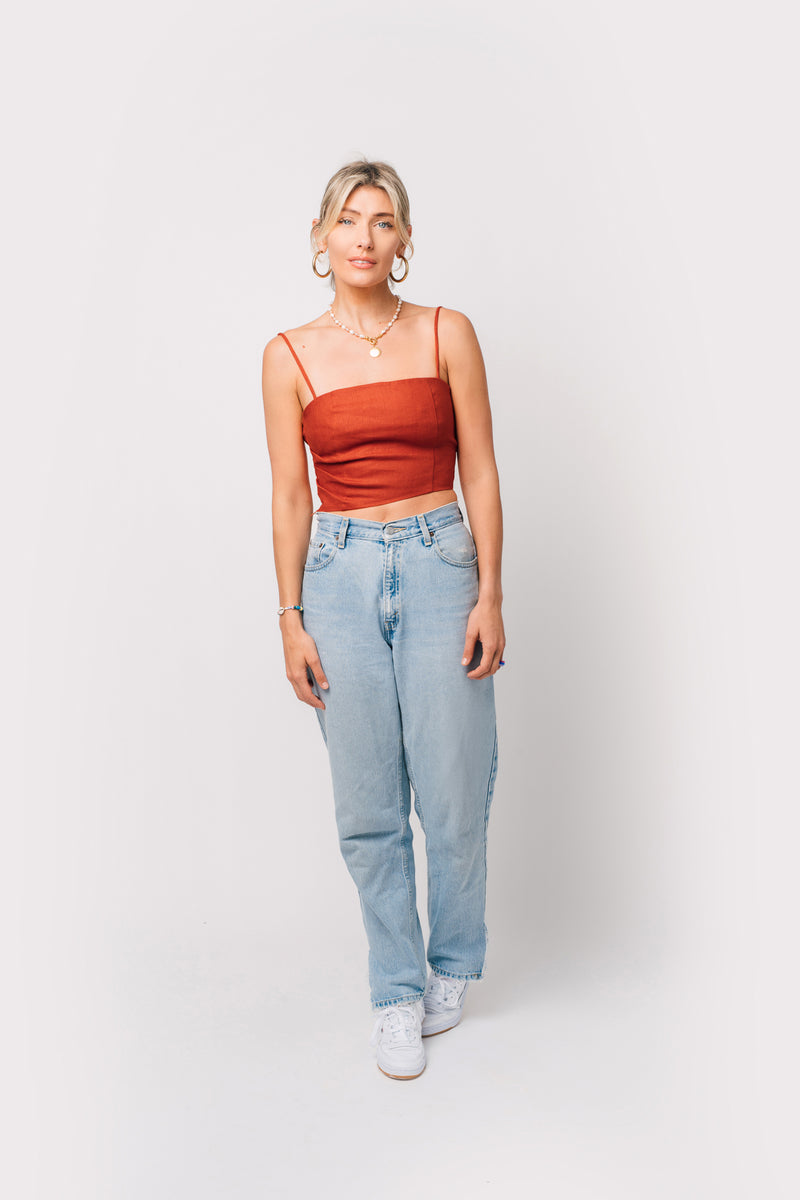 First Date Crop Top