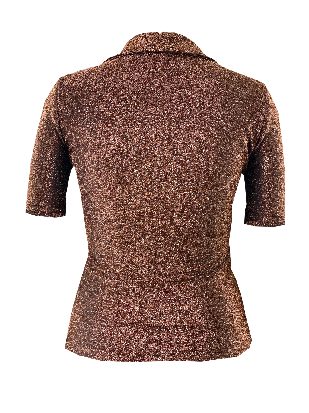 Studio Short Sleeve Top in Copper