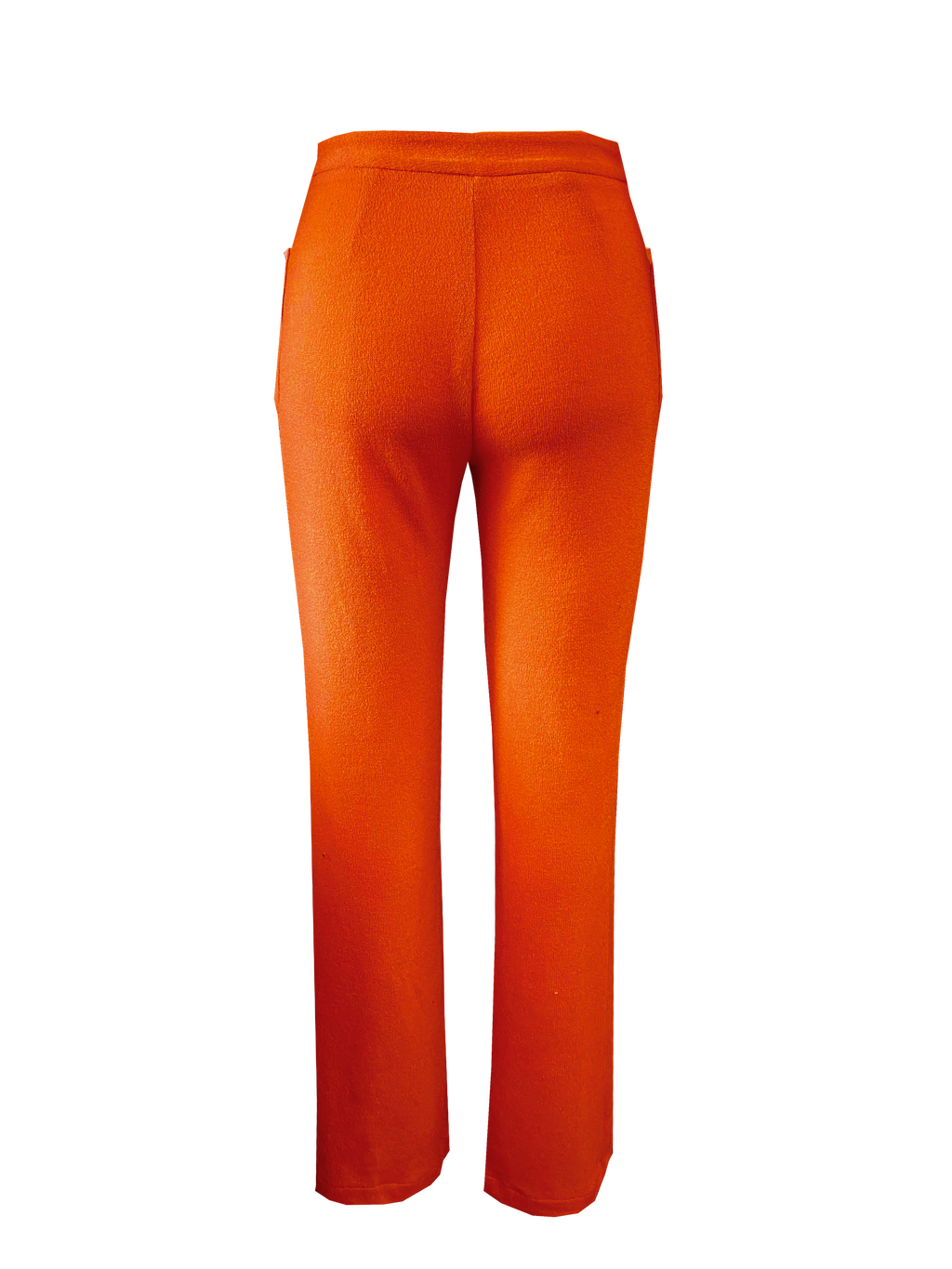 Nomad Knit Pant in Orange