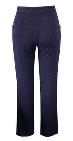 Nomad Knit Pant in Navy