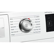 Load image into Gallery viewer, Bosch WTWH7660GB 9kg Condenser Tumble Dryer with Heat Pump - White - A++ Energy Rated