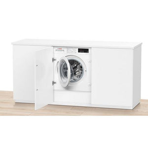 Bosch WIW28301GB Integrated 8kg 1400 Spin Washing Machine - White - A+++ Energy