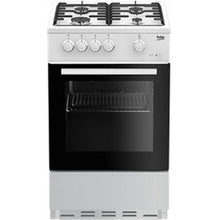Load image into Gallery viewer, Beko ESG50W 50cm Single Oven Gas Cooker - White