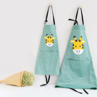 Teezbee.com - Animal Cartoon Apron (Green)