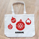 Teezbee.com - Xmas Ornaments Canvas Bag