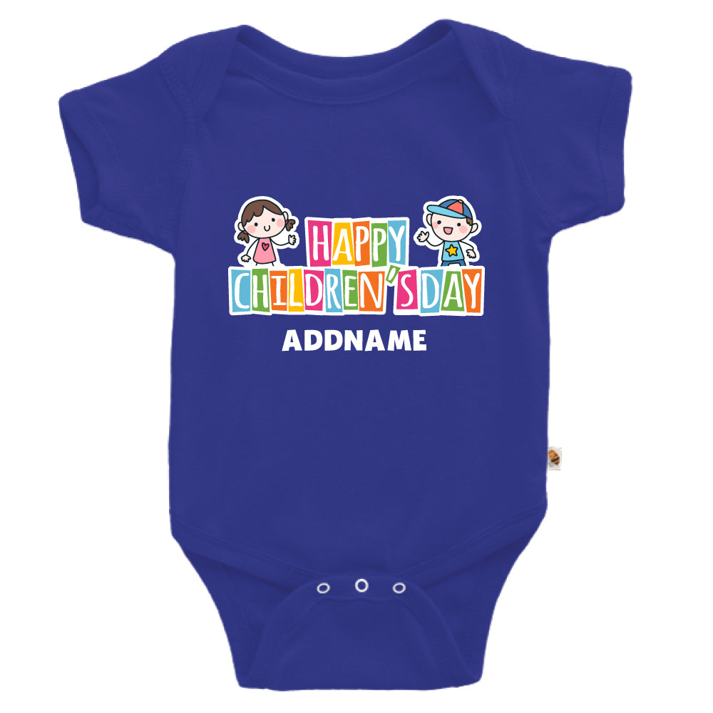 Teezbee.com - Adorable Children - Romper (Blue)