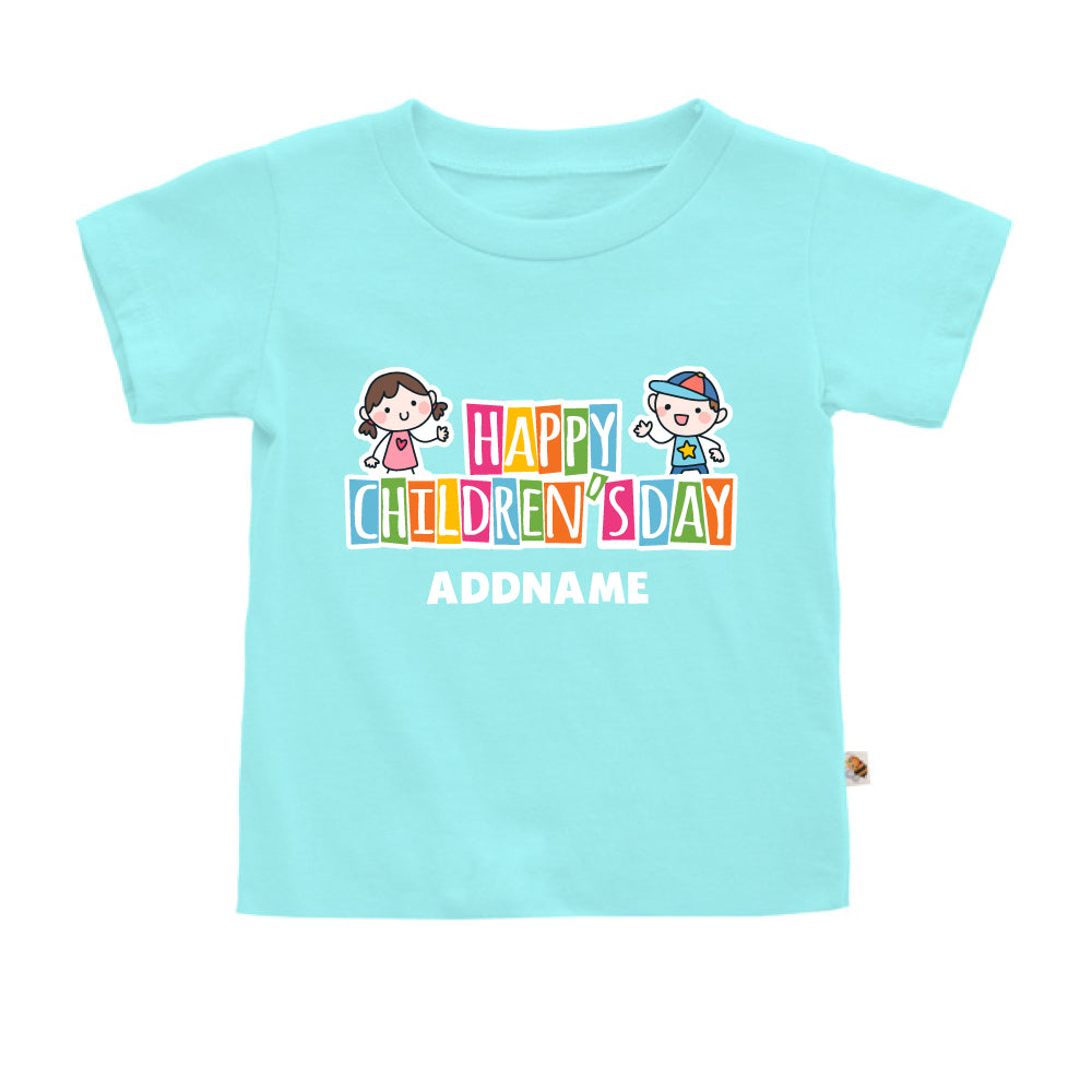 Teezbee.com - Adorable Children - Kids-T (Light Blue)
