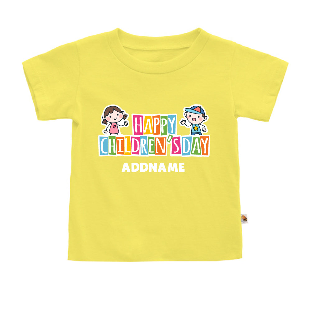 Teezbee.com - Adorable Children - Kids-T (Light Yellow)