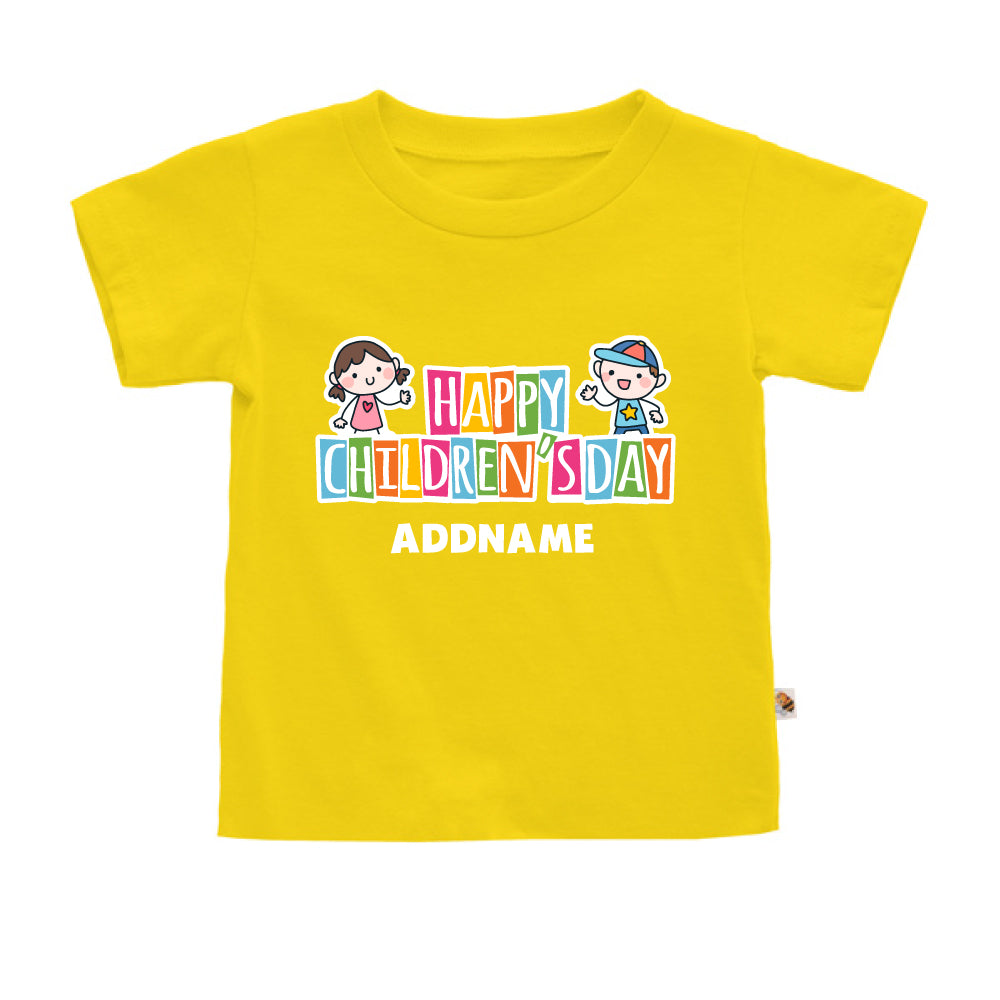 Teezbee.com - Adorable Children - Kids-T (Yellow)
