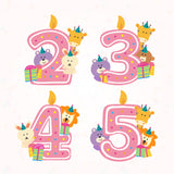 Teezbee.com - Cute Birthday Animal Pink