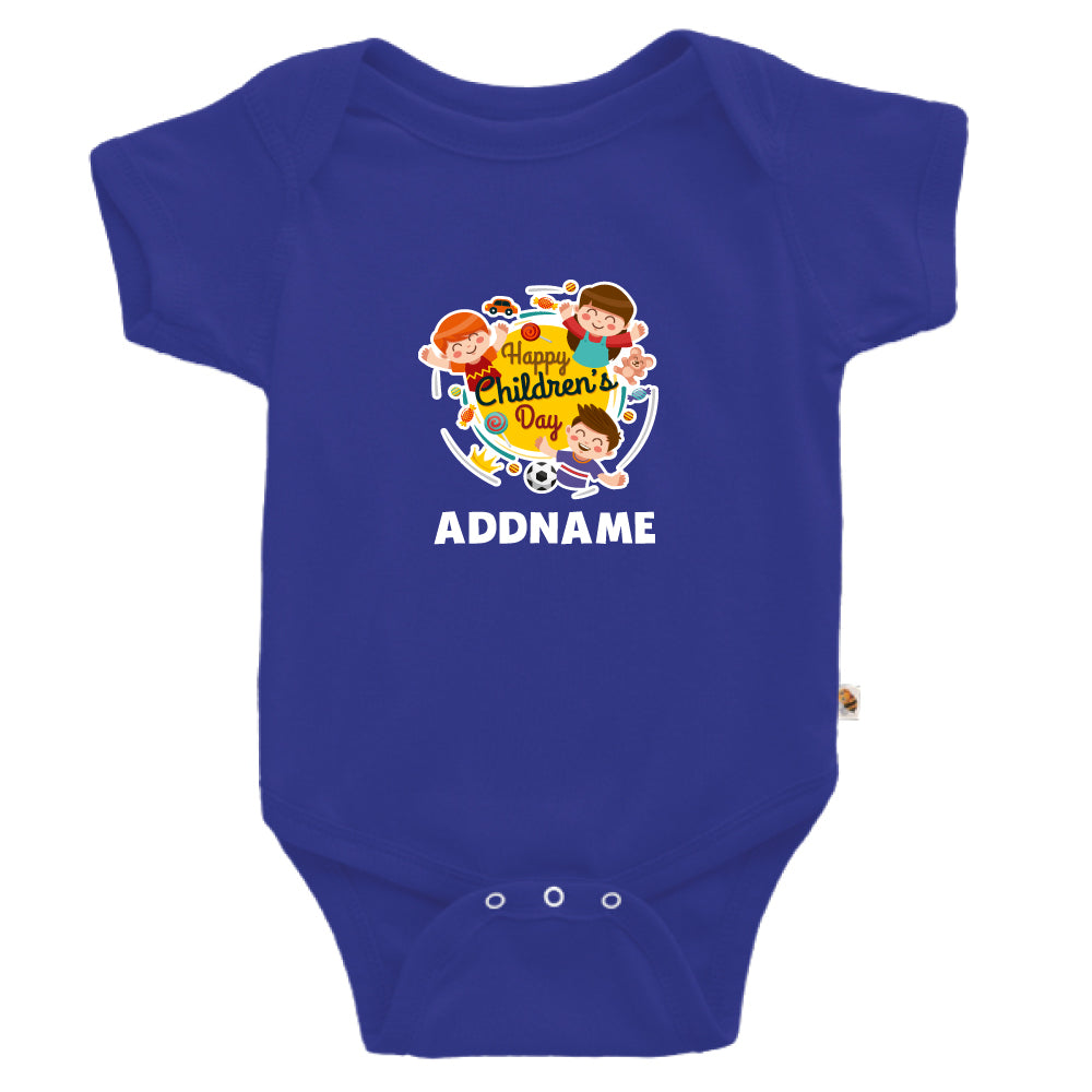 Teezbee.com - Happy Children - Romper (Blue)