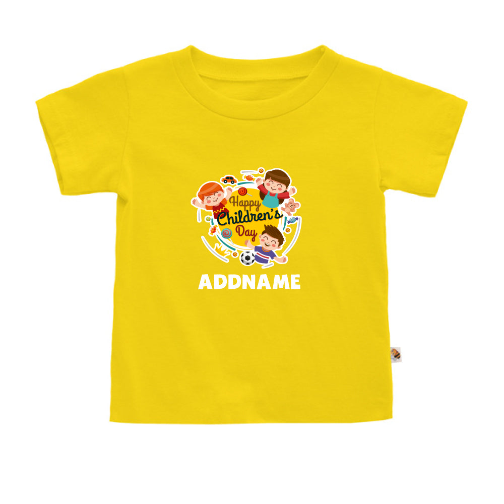 Teezbee.com - Happy Children - Kids-T (Yellow)