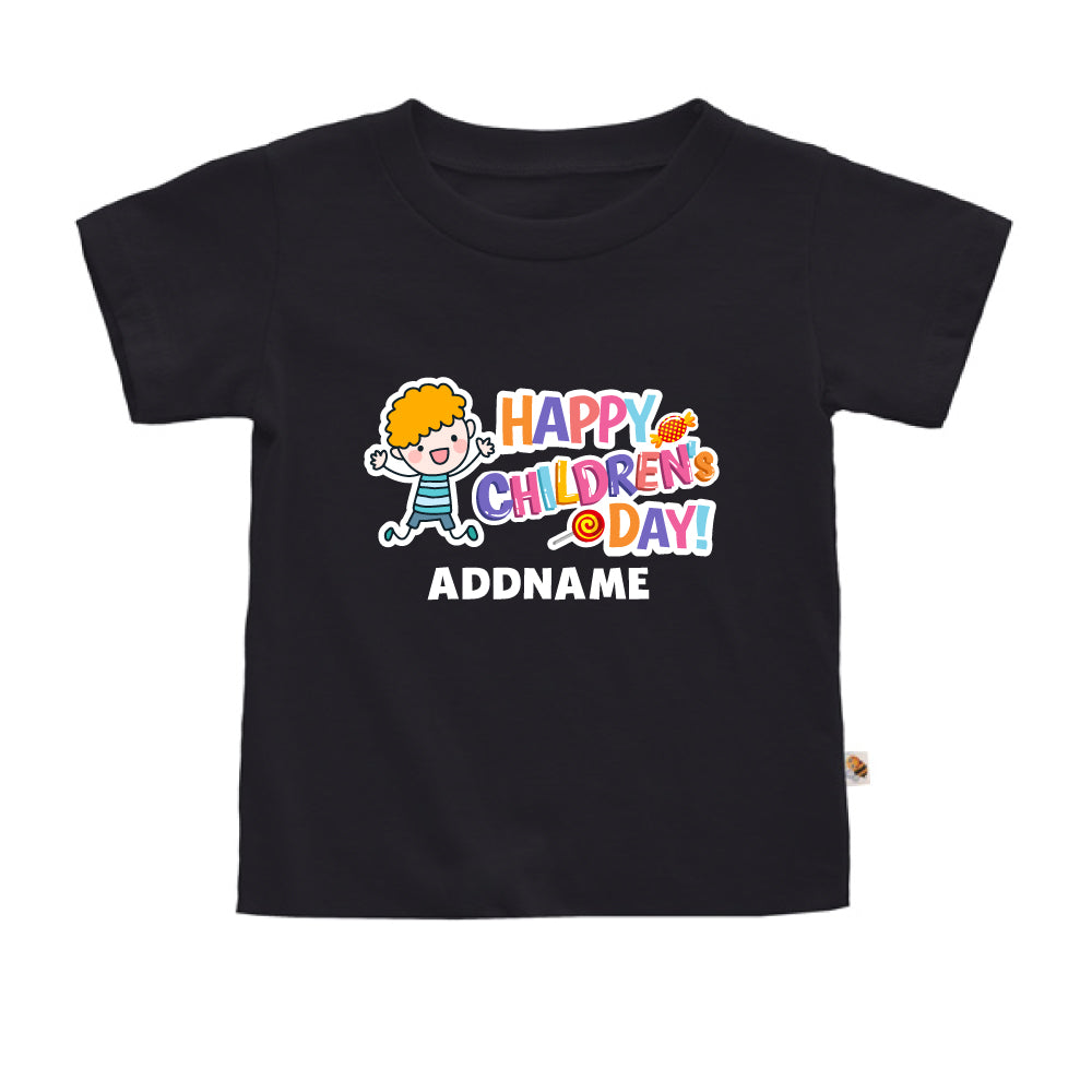 Teezbee.com - Joyful Boy - Kids-T (Black)