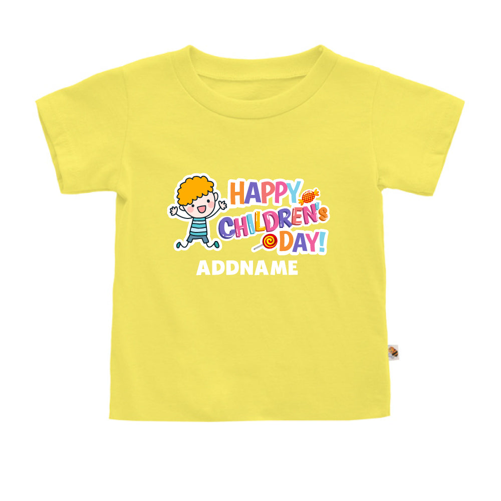 Teezbee.com - Joyful Boy - Kids-T (Light Yellow)