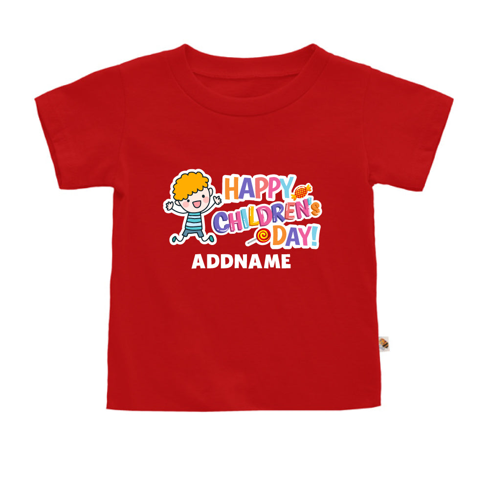 Teezbee.com - Joyful Boy - Kids-T (Red)