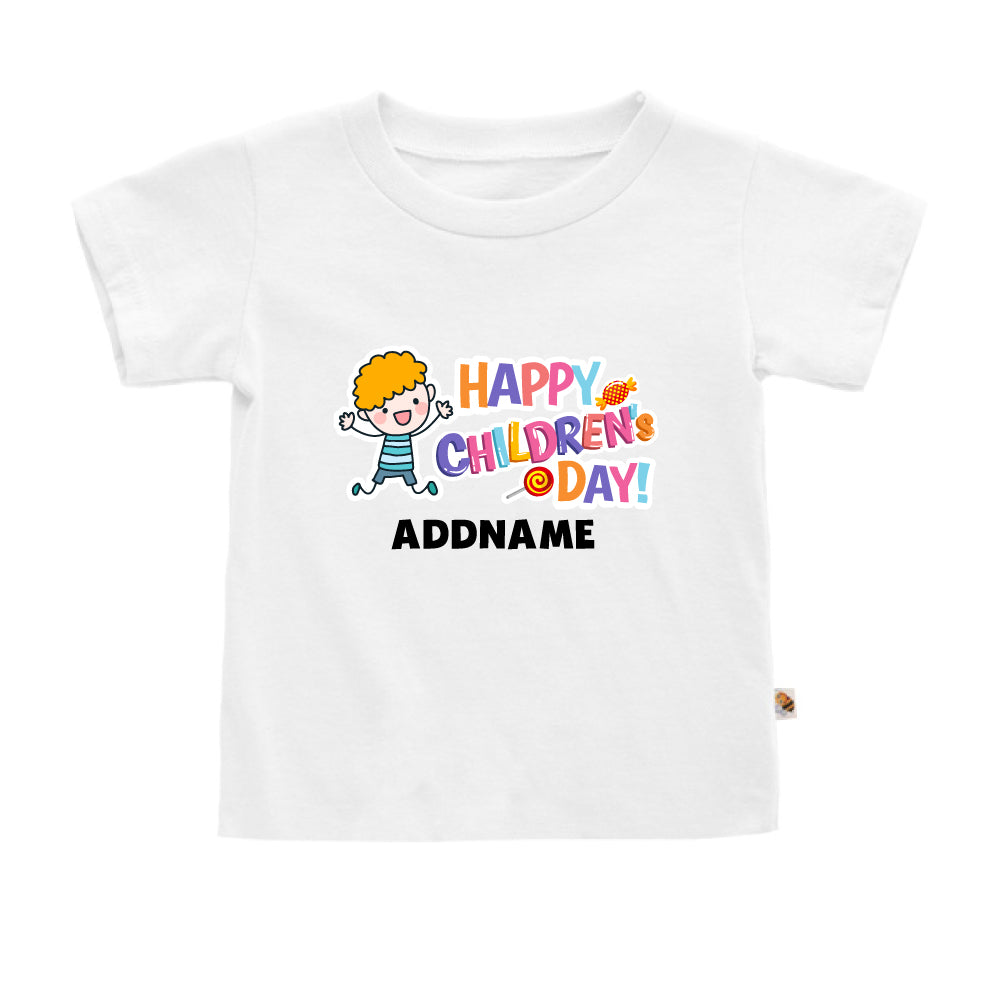 Teezbee.com - Joyful Boy - Kids-T (White)