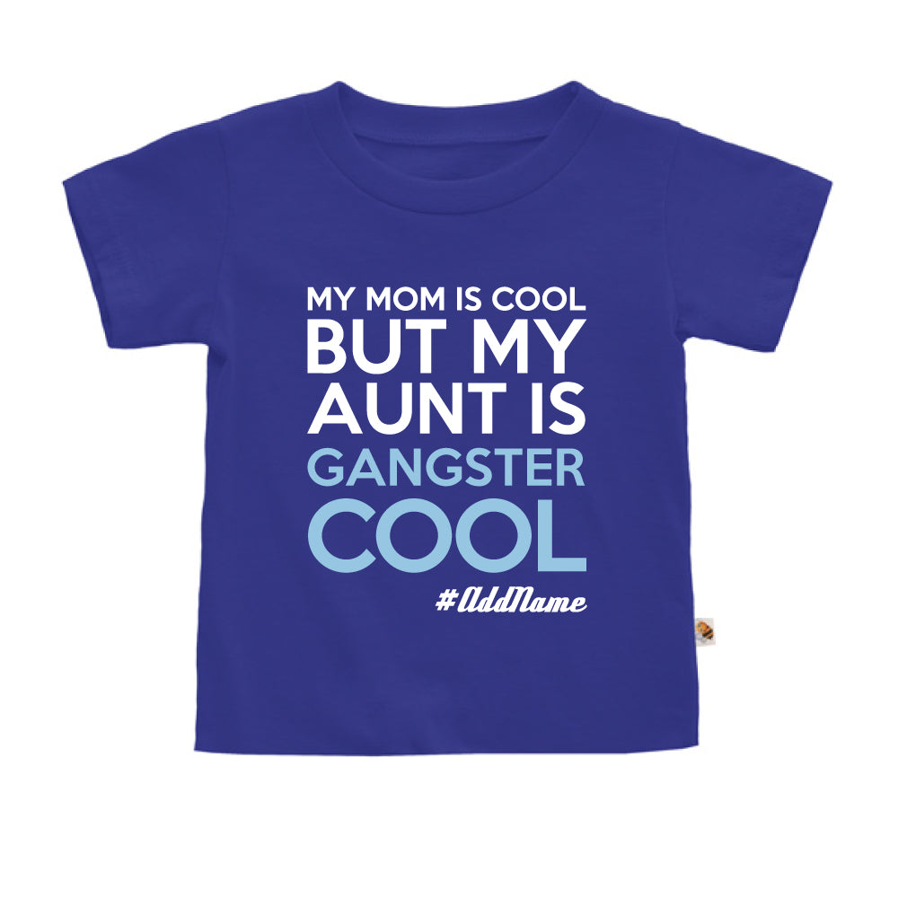 Teezbee.com - Gangster Cool Aunt - Kids-T (Blue)