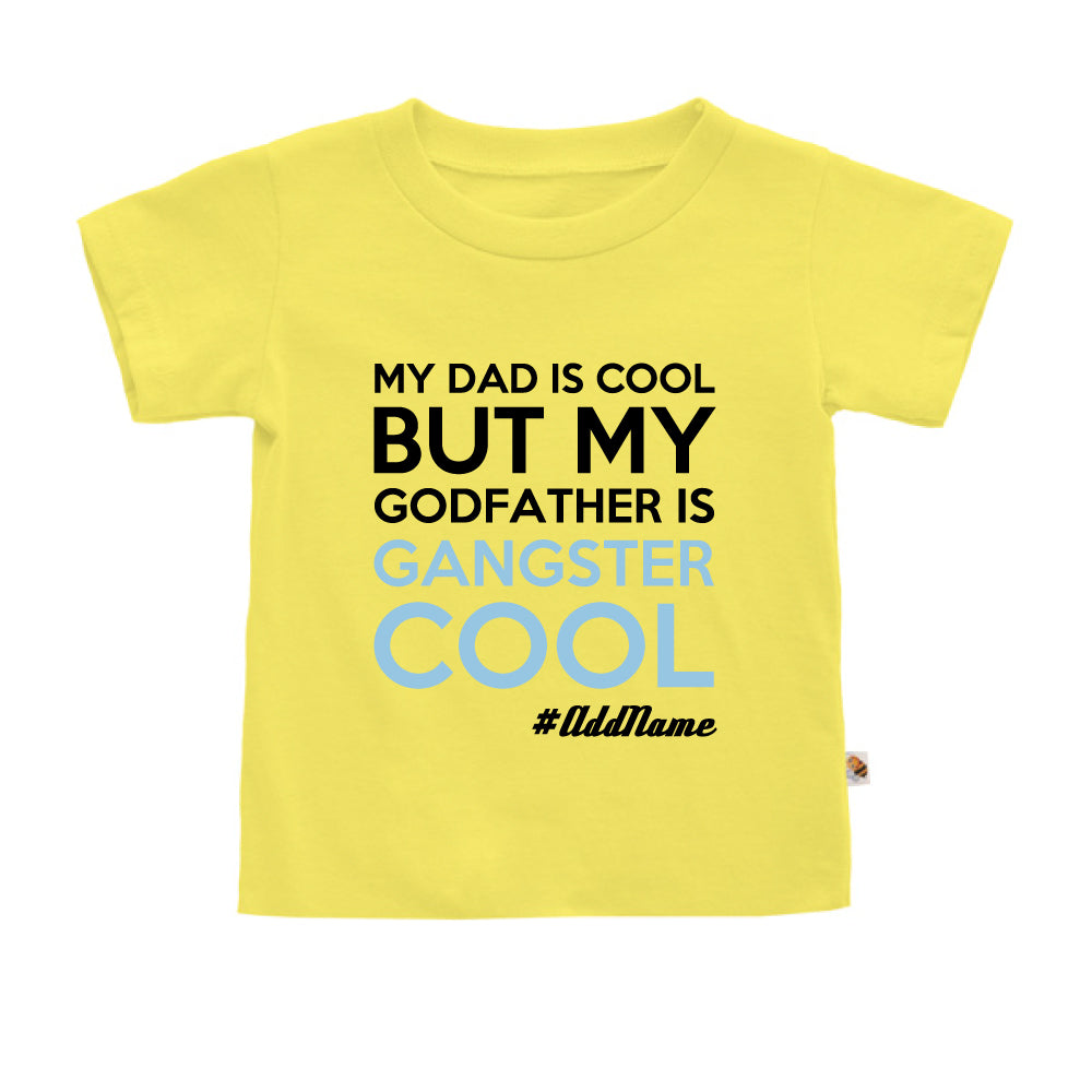 Teezbee.com - Gangster Cool Godfather - Kids-T (Light Yellow)