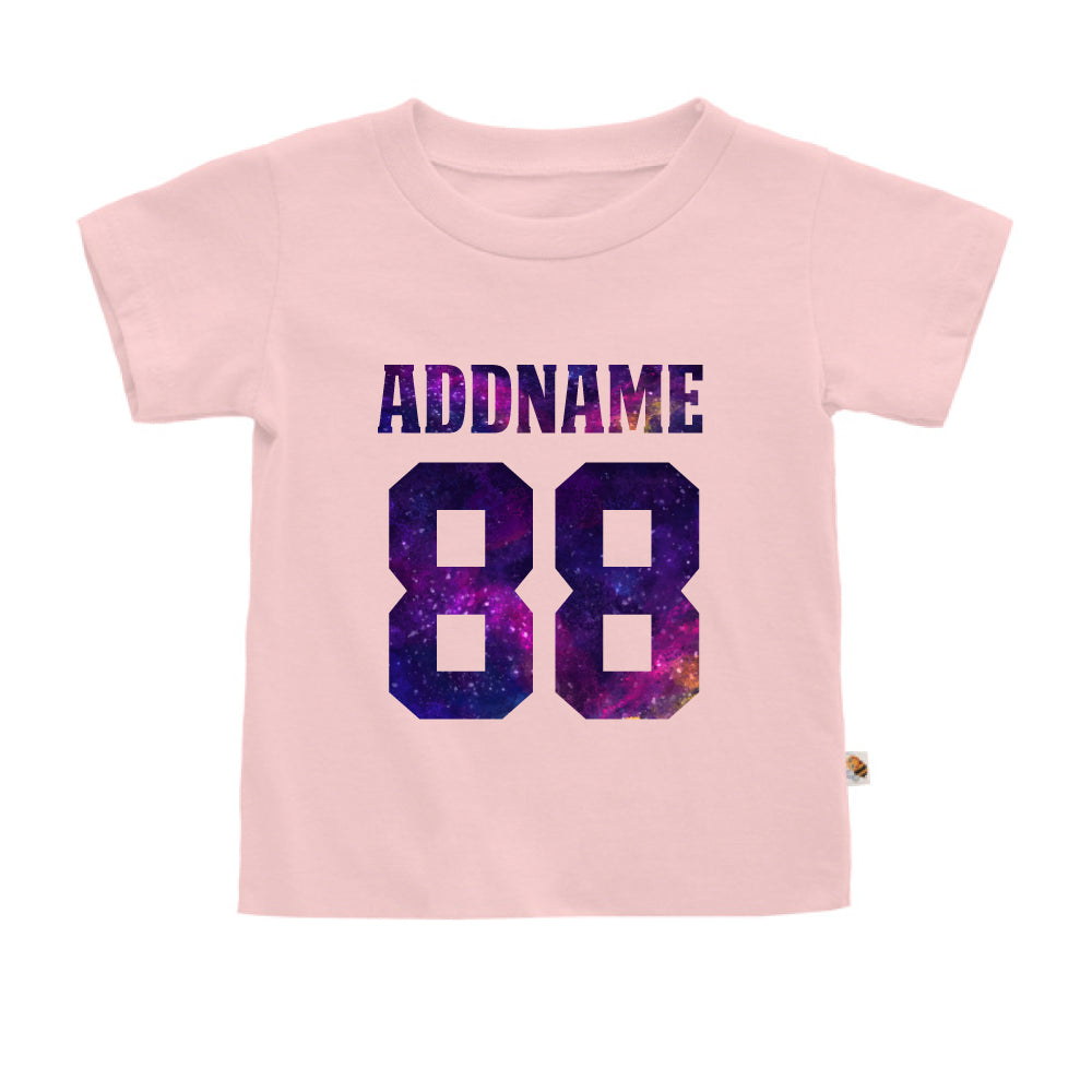 Teezbee.com - Galaxy Name with Number - Kids-T (Pink)