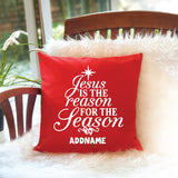 Teezbee.com - Jesus is the Reason Pillow