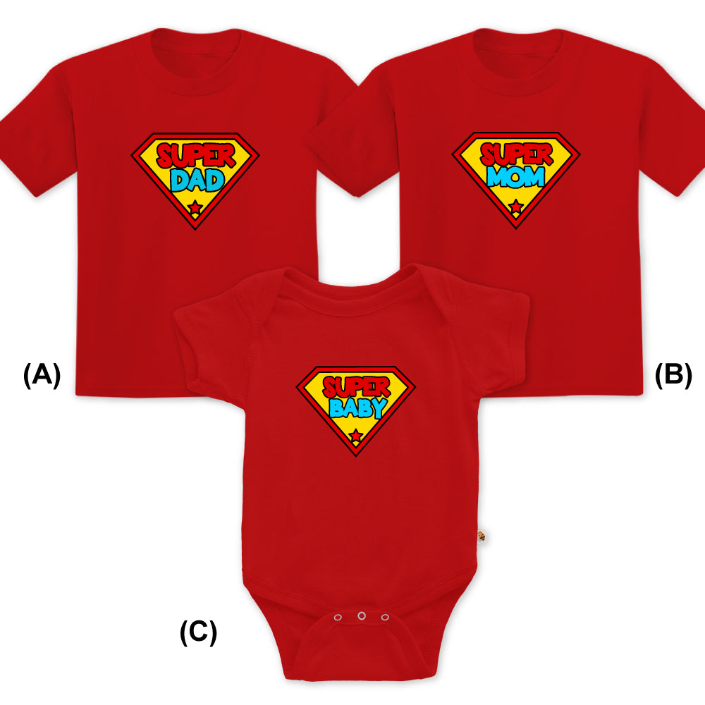 Super Baby+Mommy+Daddy Family set