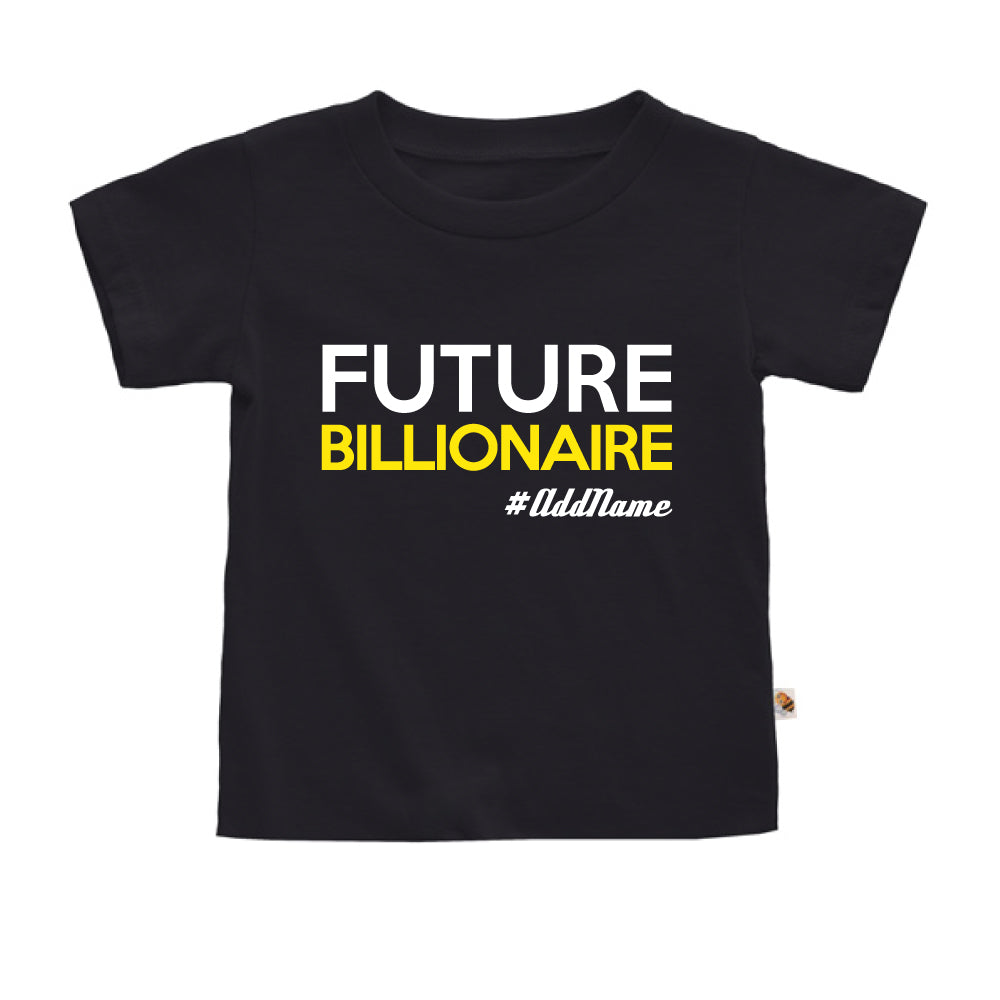 Teezbee.com - Future Billionaire - Kids-T (Black)