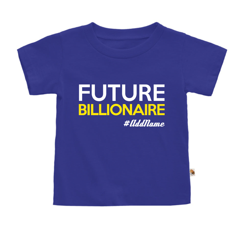 Teezbee.com - Future Billionaire - Kids-T (Blue)