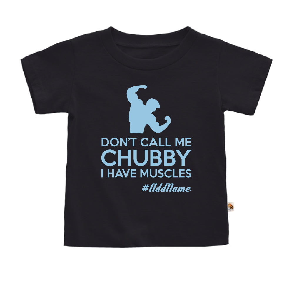 Teezbee.com - I Have Muscle - Kids-T (Black)