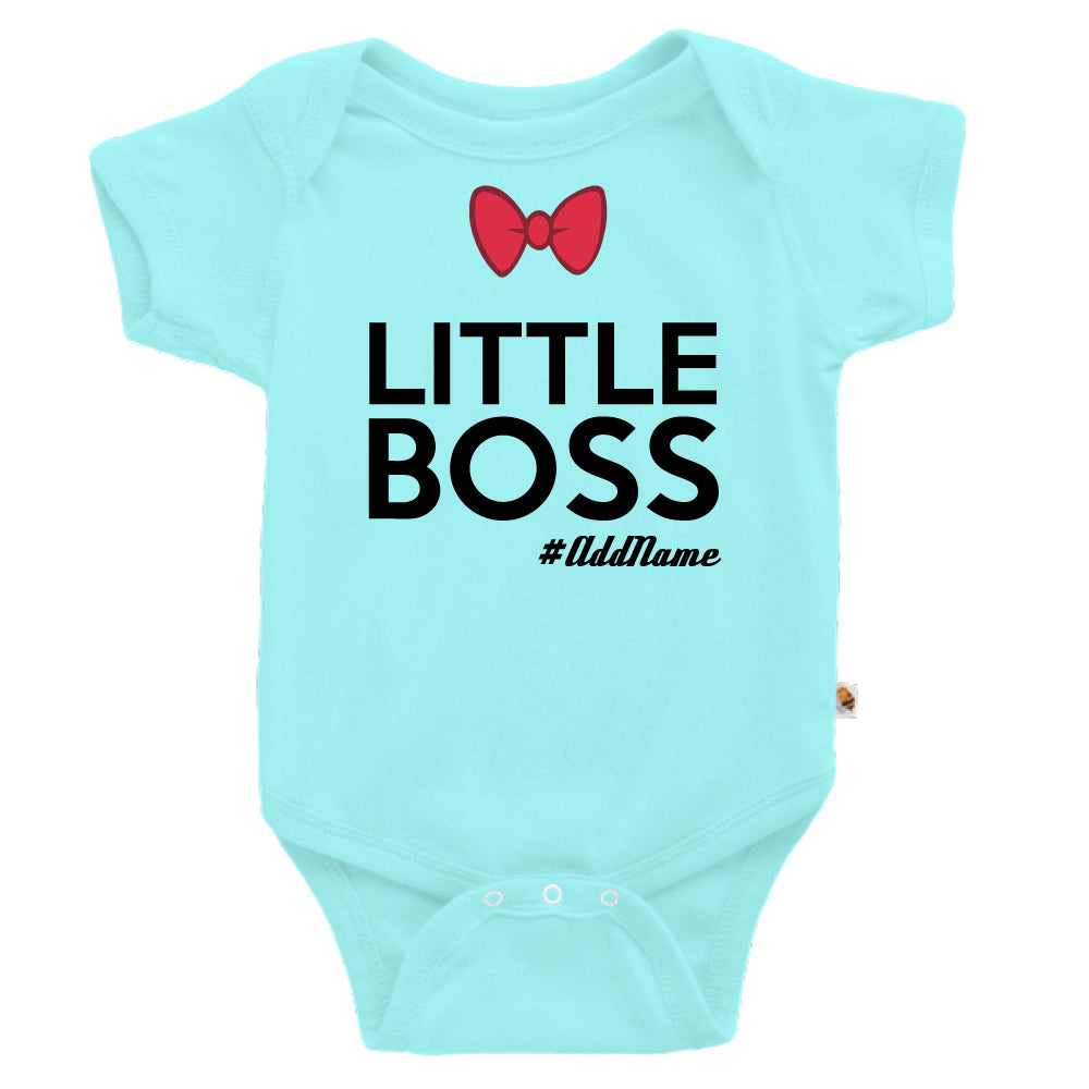 Teezbee.com - Little Boss - Romper (Light Blue)