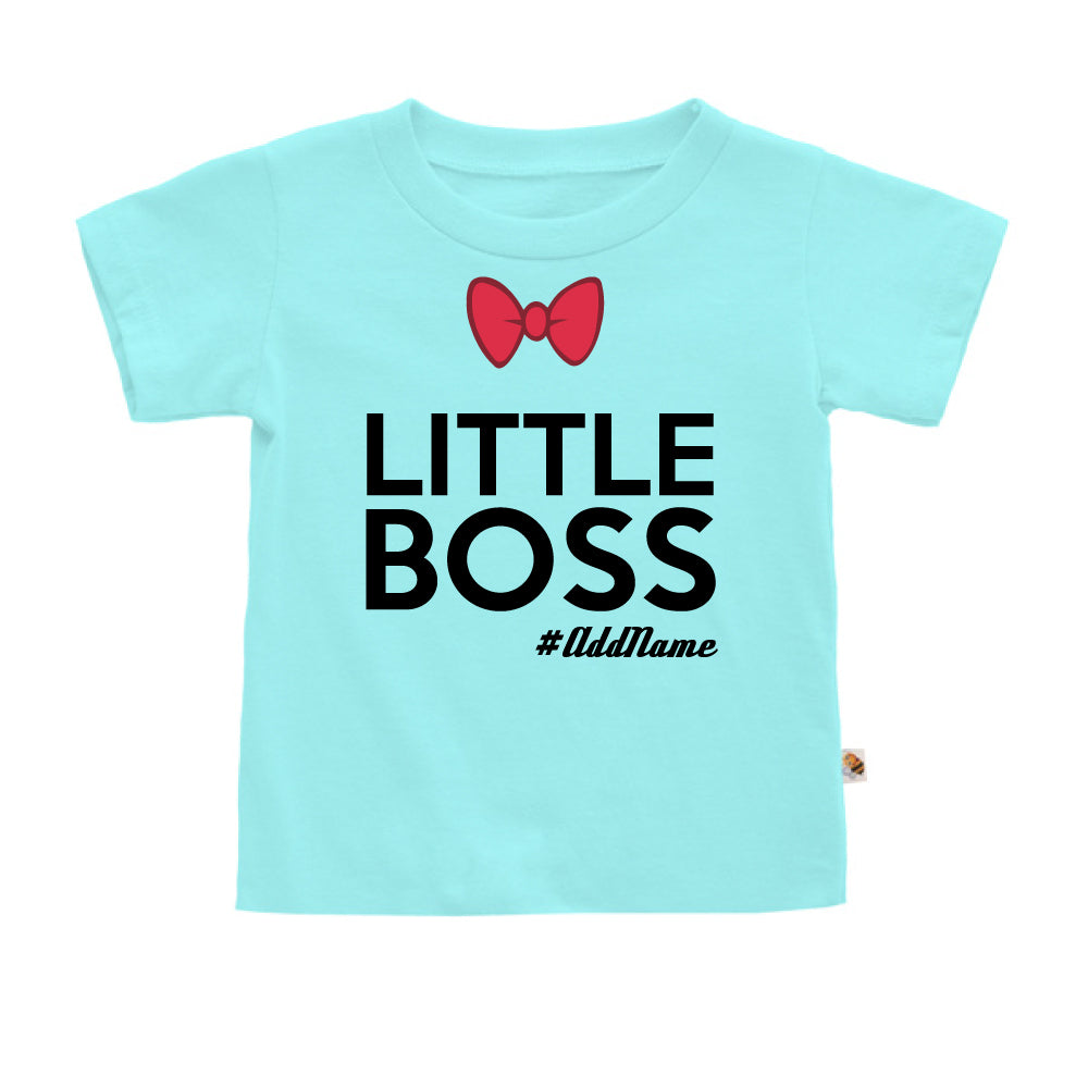 Teezbee.com - Little Boss - Kids-T (Light Blue)