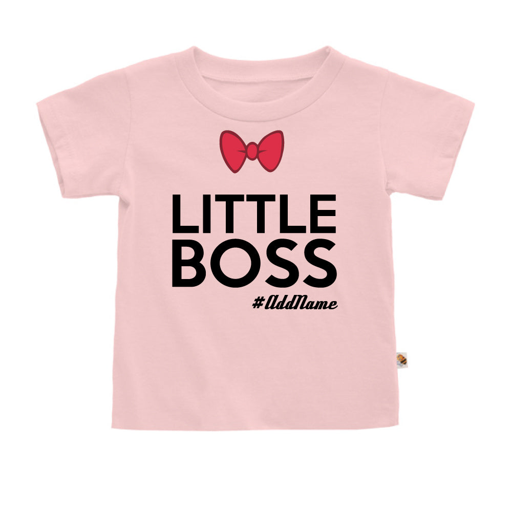 Teezbee.com - Little Boss - Kids-T (Pink)