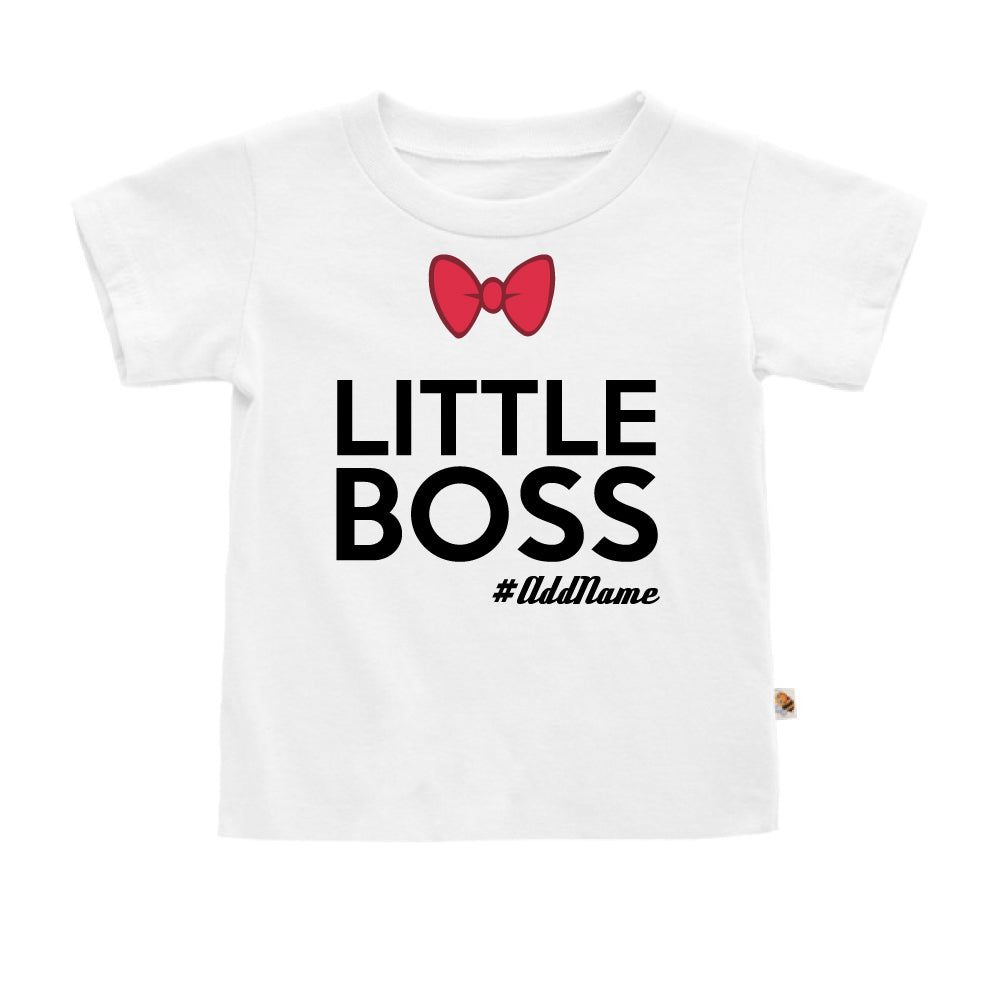 Teezbee.com - Little Boss - Kids-T (White)